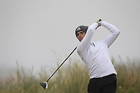 Jack Madden (Royal Portrush) on the 1st tee during Round 1 - Matchplay of the North of Ireland Championship at Royal Portrush Golf Club, Portrush, Co. Antrim on Wednesday 11th July 2018.<br /> Picture:  Thos Caffrey / Golffile