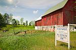 Route 66, Michigan. Barn and farm for sale.