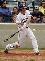 De La Salle at Amador Valley High School  varsity baseball at Amador Valley High School in Pleasanton, CA Wednesday, April 3, 2019. (Photo by Alan Greth)