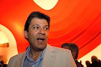 SÃO PAULO, 23 DE MAIO DE 2012. LANÇAMENTO DO ACERVO DIGITAL DO JORNAL ESTADO DE SÃO PAULO. O ex ministro da educação, Fernando Haddad, durante lançamento do acervo digital do Jornal o Estado de São Paulo na noite desta quarta feira no auditório ibirapuera em São Paulo. FOTO ADRIANA SPACA : BRAZIL PHOTO PRESS