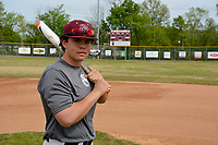 Graham Thomas/Herald-Leader<br /> Siloam Springs senior first baseman A.J. Serrano is among the team leaders in most offensive categories.