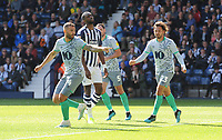 Blackburn Rovers' Bradley Johnson celebrates scoring his side's second goal <br /> <br /> Photographer Kevin Barnes/CameraSport<br /> <br /> The EFL Sky Bet Championship - West Bromwich Albion v Blackburn Rovers - Saturday 31st August 2019 - The Hawthorns - West Bromwich<br /> <br /> World Copyright © 2019 CameraSport. All rights reserved. 43 Linden Ave. Countesthorpe. Leicester. England. LE8 5PG - Tel: +44 (0) 116 277 4147 - admin@camerasport.com - www.camerasport.com