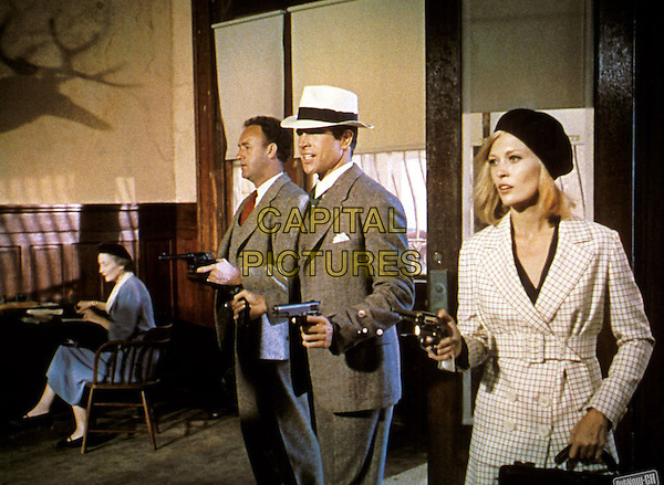 Gene Hackman, Warren Beatty, Faye Dunaway<br /> in Bonnie and Clyde (1967) <br /> *Filmstill - Editorial Use Only*<br /> CAP/FB<br /> Image supplied by Capital Pictures