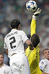 MADRID (15/(09/2010).- Champions League match Real Madrid vs Ajax Amsterdam. Ricardo Carvalho and Maarten Stekelenburg...Photo: Cesar Cebolla / ALFAQUI