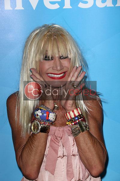 Betsey Johnson<br /> at the 2013 NBC Universal Summer Press Day , Langham Huntington Hotel, Pasadena, CA 04-22-13<br /> David Edwards/Dailyceleb.com 818-249-4998