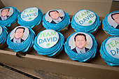 Cakes baked by a supporter of the Conservative parliamentary candidate Chris Philp in the marginal constituency of Hampstead and Kilburn.