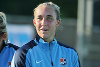 Piscataway, NJ - Saturday July 23, 2016: Caroline Casey prior to a regular season National Women's Soccer League (NWSL) match between Sky Blue FC and the Washington Spirit at Yurcak Field.