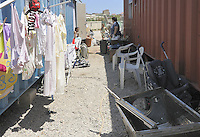family groups living  in  house-containers of the Municipality of Palermo  since seven years, after being  evicted from home.<br />