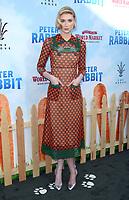 LOS ANGELES, CA - FEBRUARY 03: Elizabeth Debicki at the premiere of Columbia Pictures' 'Peter Rabbit' at The Grove on February 3, 2018 in Los Angeles, California. <br /> CAP/MPI/DE<br /> &copy;DE//MPI/Capital Pictures