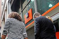 SAO PAULO,SP, 03.11.2015 - ITAU-SP - Vista do Banco Ita&uacute; na rua Boa Vista, zona central da cidade de S&atilde;o Paulo, nesta ter&ccedil;a-feira, 03. Lucro do Ita&uacute; Unibanco cai para<br /> R$ 5,945 bilh&otilde;es no terceiro trimestre. (Foto: Douglas Pingituro/Brazil Photo Press)