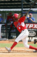 Felix Osorio participates in the Dominican Prospect League showcase at the New York Yankees academy on September 19,2013 in Boca Chica, Dominican Republic.
