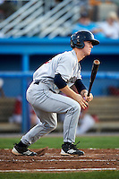 Mahoning Valley Scrappers second baseman Joe Wendle #13 during a NY-Penn League game against the Batavia Muckdogs at Dwyer Stadium on August 22, 2012 in Batavia, New York.  Batavia defeated Mahoning Valley 3-2.  (Mike Janes/Four Seam Images)