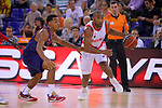 League ACB-ENDESA 2017/2018. Game: 1.<br /> FC Barcelona Lassa vs Baskonia: 87-82.<br /> Phill Pressey vs Jayson Granger.