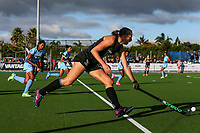 Olivia Merry of the Blacksticks during the international hockey match between the Blacksticks Women and India, Rosa Birch Park, Pukekohe, New Zealand. Sunday 14  May 2017. Photo:Simon Watts / www.bwmedia.co.nz
