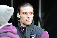 Andy Carroll of West Ham during West Ham United vs Burnley, Premier League Football at The London Stadium on 10th March 2018