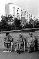 Roma, Aprile2010.Periferia, Case di edilizia popolare ATER.Rome Aprile2010.Suburbs, Houses social housing ATER..