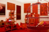 Brumadinho_MG, Brasil...Museu de Arte Contemporanea de Inhotim (CACI). Na Foto a obra Desvio para o vermelho I: Impregnacao, II: Entorno, III: Desvio de Cildo Meireles...The Inhotim Contemporary Art Museum (CACI). In this photo the art Desvio para o vermelho I: Impregnacao, II: Entorno, III: Desvio of Cildo Meireles...Foto: JOAO MARCOS ROSA / NITRO