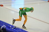 SCHAATSEN: HEERENVEEN: 28-12-2013, IJsstadion Thialf, KNSB Kwalificatie Toernooi (KKT), 10.000m, Jorrit Bergsma, ©foto Martin de Jong