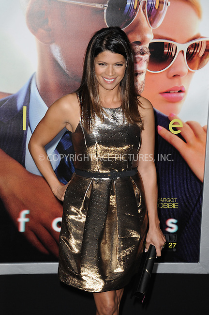 WWW.ACEPIXS.COM<br /> <br /> February 24 2015, New York City<br /> <br /> Andrea Navedo arriving at the premiere of 'Focus' at the TCL Chinese Theatre on February 24, 2015 in Hollywood, California.<br /> <br /> By Line: Peter West/ACE Pictures<br /> <br /> <br /> ACE Pictures, Inc.<br /> tel: 646 769 0430<br /> Email: info@acepixs.com<br /> www.acepixs.com