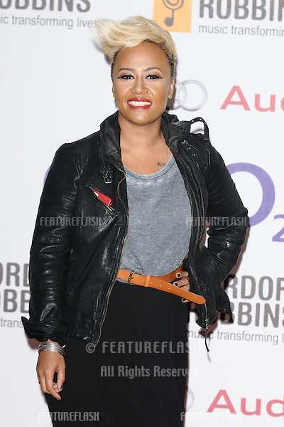 Emelie Sande arriving for the Nordoff Robbins Silver Clef Awards 2012, London. 29/06/2012 Picture by: Steve Vas / Featureflash