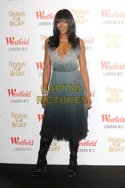 LONDON, ENGLAND - NOVEMBER 27: Naomi Campbell attends the Fashion For Relief Pop Up Launch Party at Westfield Shopping Centre on November 27, 2014 in London, England.<br />  CAP/BEL<br /> &copy;Tom Belcher/Capital Pictures