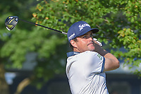 Keegan Bradley (USA) watches his tee shot on 12 during 1st round of the 100th PGA Championship at Bellerive Country Cllub, St. Louis, Missouri. 8/9/2018.<br /> Picture: Golffile | Ken Murray<br /> <br /> All photo usage must carry mandatory copyright credit (© Golffile | Ken Murray)