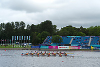 Glasgow, Scotland, Friday, 3rd  August 2018, View, European Games, Rowing, Strathclyde Park, North Lanarkshire, © Peter SPURRIER/Alamy Live News