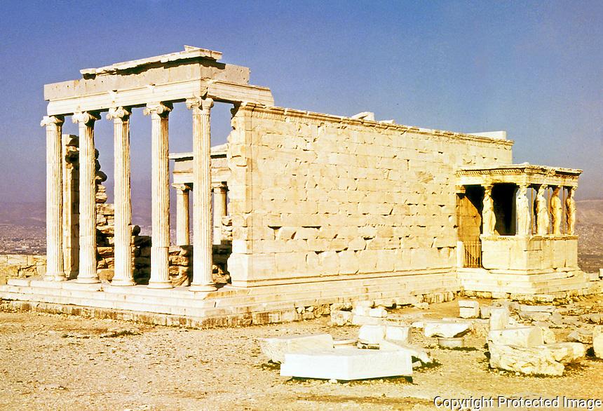 Greece: The Erechtheion.