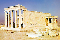 Greece: The Erechtheion.