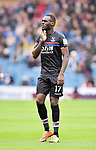Crystal Palace's Christian Benteke during the premier league match at the Turf Moor Stadium, Burnley. Picture date 10th September 2017. Picture credit should read: Paul Burrows/Sportimage