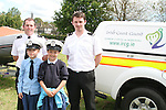 Jade Reilly and Caitlin Coyle with Paul and Robert from the Coastguard when the Coastguard visited Marymount NS to give a talk about Water Safety..Photo NEWSFILE/Jenny Matthews.(Photo credit should read Jenny Matthews/NEWSFILE)....This Picture has been sent you under the condtions enclosed by:.Newsfile Ltd..The Studio,.Millmount Abbey,.Drogheda,.Co Meath..Ireland..Tel: +353(0)41-9871240.Fax: +353(0)41-9871260.GSM: +353(0)86-2500958.email: pictures@newsfile.ie.www.newsfile.ie.FTP: 193.120.102.198.