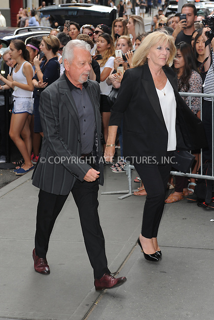www.acepixs.com<br /> September 11, 2016 New York City<br /> <br /> Anthony Adams and Jackie Adams<br /> arriving to Balthazar in New York City on September 11, 2016.<br /> <br /> Credit: Kristin Callahan/ACE Pictures<br /> <br /> tel: 646 769 0430<br /> Email: info@acepixs.com