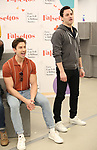 "Nick Adams and Max von Essen during the rehearsal performance of  ""Falsettos""  at the New Ripley Grier on January 25, 2019 in New York City."