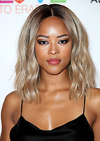 BEVERLY HILLS, CA - APRIL 20:  Serayah McNeill at the Race to Erase MS 25th Anniversary Gala at the Beverly Hilton on April 20, 2018 in Beverly Hills, California. (Photo by Scott KirklandPictureGroup)