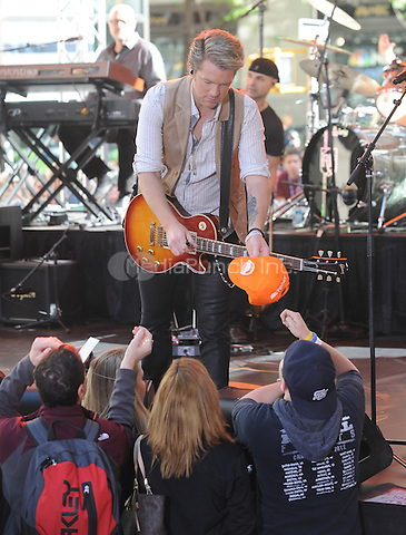 New York,NY-May 30: Joe Don Rooney attends the Rascal Flatts concert on The Today Show  in New York City on May 30, 2014. Credit: John Palmer/MediaPunch