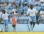 2 September 2007: North Carolina's Andre Sherard. The University of North Carolina Tar Heels tied the Old Dominion University Monarchs 1-1 at Fetzer Field in Chapel Hill, North Carolina in an NCAA Division I Men's Soccer game.
