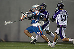 San Francisco Dragons vs Los Angeles Riptide.Lebard Stadium, Orange Coast College,Huntington Beach, California.Kevin Huntley (#39),Joe Kostolansky (# 26) and Kyle Hartzell (# 13).506P0817.JPG.CREDIT: Dirk Dewachter
