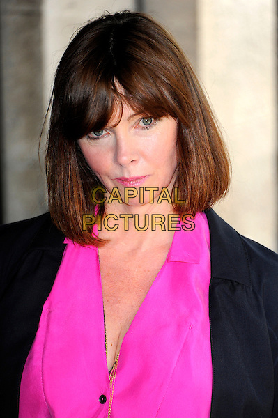 Cathy Dennis.58th annual Ivor Novello songwriting and composing awards, Grosvenor House, London, England, UK, 16th May 2013..portrait headshot pink fringe bob .CAP/CJ.©Chris Joseph/Capital Pictures.