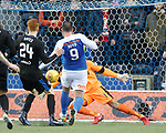 Kris Boyd scores his first goal past Rangers keeper Wes Foderingham