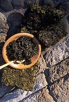 Amérique/Amérique du Sud/Pérou/Arequipa : Algues séchées pour la cuisine