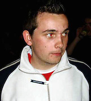 Pictured: Undated picture of Steven Cook<br /> Re: Police have found the remains of the body in a well near a cemetery in Malia, on the Greek island of Crete with local news outlets speculating that it maybe that of 20 year old Briton Steven Cook who went missing on the 1st of September 2005. A disposable camera and a belt were reportedly found next to the remains.