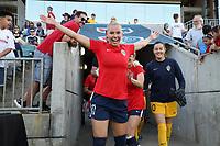 Cary, North Carolina  - Saturday June 15, 2019: North Carolina Courage vs Portland Thorns FC at Sahlen's Stadium at WakeMed Soccer Park.