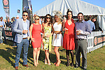 Frank Taafe, Vivienne Kelly, Emma Jane Flynn, Leighanne Taafe, Sinead Taafe and Mark Hogan at the Bellewstown Races 2011...(Photo credit should read Jenny Matthews www.newsfile.ie)....This Picture has been sent you under the conditions enclosed by:.Newsfile Ltd..The Studio,.Millmount Abbey,.Drogheda,.Co Meath..Ireland..Tel: +353(0)41-9871240.Fax: +353(0)41-9871260.GSM: +353(0)86-2500958.email: pictures@newsfile.ie.www.newsfile.ie.