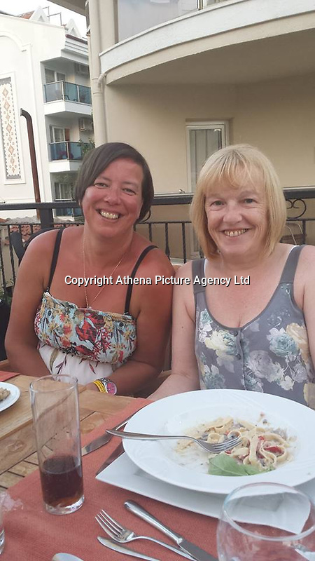 """Pictured: Tracy Kearns (L) <br /> Re: A man strangled his partner and wrapped her body in plastic, after discovering she was having an affair, Mold Crown Court has heard.<br /> 48 year old Anthony Bird, then covered the body of 43 year old Tracy Kearns in debris in a trailer.<br /> Mr Bird denies the murder at their home in Kinmel Bay, in May this year, but accepts responsibility for her death.<br /> He """"attacked and strangled"""" his partner, prosecutor Ian Unsworth said opening the case.<br /> Mr Unsworth said the defendant misled police and even helped officers in the search for the mother-of-two, telling """"lie after lie"""".<br /> The couple had been in a relationship for seven years and had two daughters together.<br /> They both worked at the Sandy Cove Club in Kinmel Bay but Mr Unsworth said things deteriorated and she started a relationship with another man, Andrew Jones."""