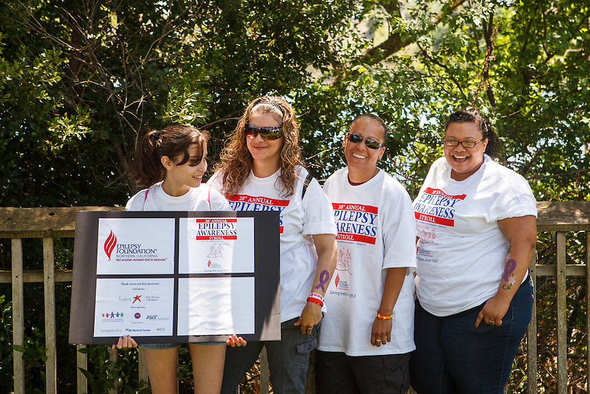 The Epilepsy Foundation of Northern California held the 20th Annual Epilepsy Awareness Walk at Six Flags Discovery Kingdom, Vallejo, California on Saturday, May 21, 2012.