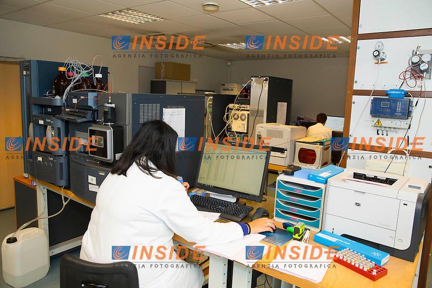 07-06-2016<br /> Laboratorio Antidoping di Chatenay Malabry Euro2016 Campionati Europei <br /> Foto Panoramic / Insidefoto
