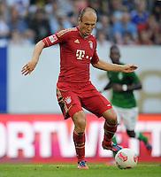 FUSSBALL   1. BUNDESLIGA   SAISON 2012/2013   LIGA TOTAL CUP  FC Bayern Muenchen - SV Werder Bremen       04.08.2012 Arjen Robben (FC Bayern Muenchen) Einzelaktion am Ball