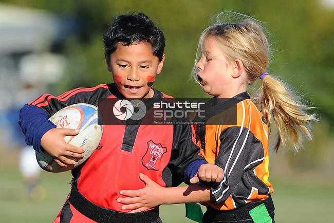 Motueka Utd Club Day. Sports Park, Motueka, Nelson, New Zealand. Saturday 9 August 2014. Photo Chris Symes/www.shuttersport.co.nz