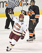 Chris Collins celebrates (Brian Carthas) - Boston College defeated Princeton University 5-1 on Saturday, December 31, 2005 at Magness Arena in Denver, Colorado to win the Denver Cup.  It was the first meeting between the two teams since the Hockey East conference began play.