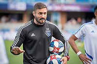San Jose, CA - Saturday, April 06, 2019: Major League Soccer (MLS) match between the San Jose Earthquakes and the Portland Timbers at Avaya Stadium.